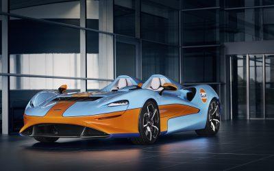 McLaren Elva Gulf Theme by MSO sees Australian debut at Sydney Concours d'Elegance