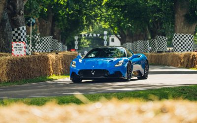 Maserati MC20 for the first time at Goodwood Festival of Speed